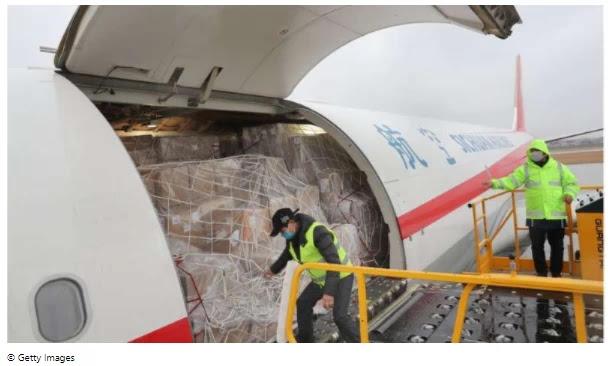 '8,000 jumbo jets needed to supply global vaccines'
