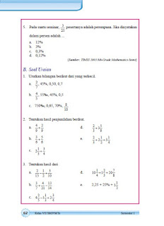 kunci jawaban matematika smp kelas 7 halaman 62