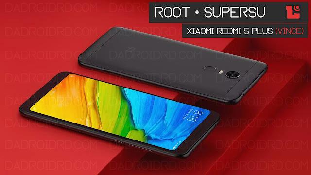 maka cara ini bisa kalian terapkan untuk bisa mendapatkan akses Full ROOT pada device kal Cara mudah Root Xiaomi Redmi 5 Plus (Vince) tanpa PC dengan SuperSU