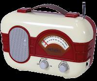 Rádio antigo em png