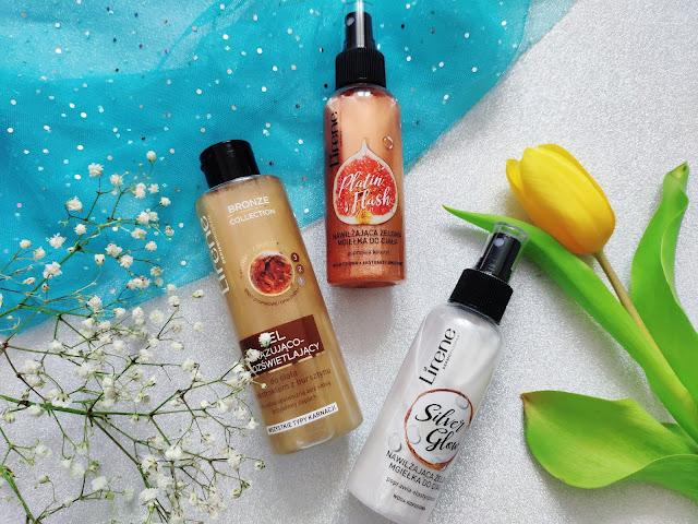Lirene - Rozświetlające kosmetyki do pielęgnacji ciała