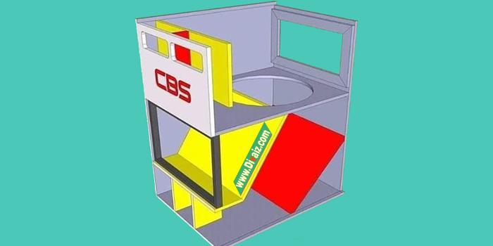 Skema Box CBS Trilogi 15 inch Terbaru Bass Mantap