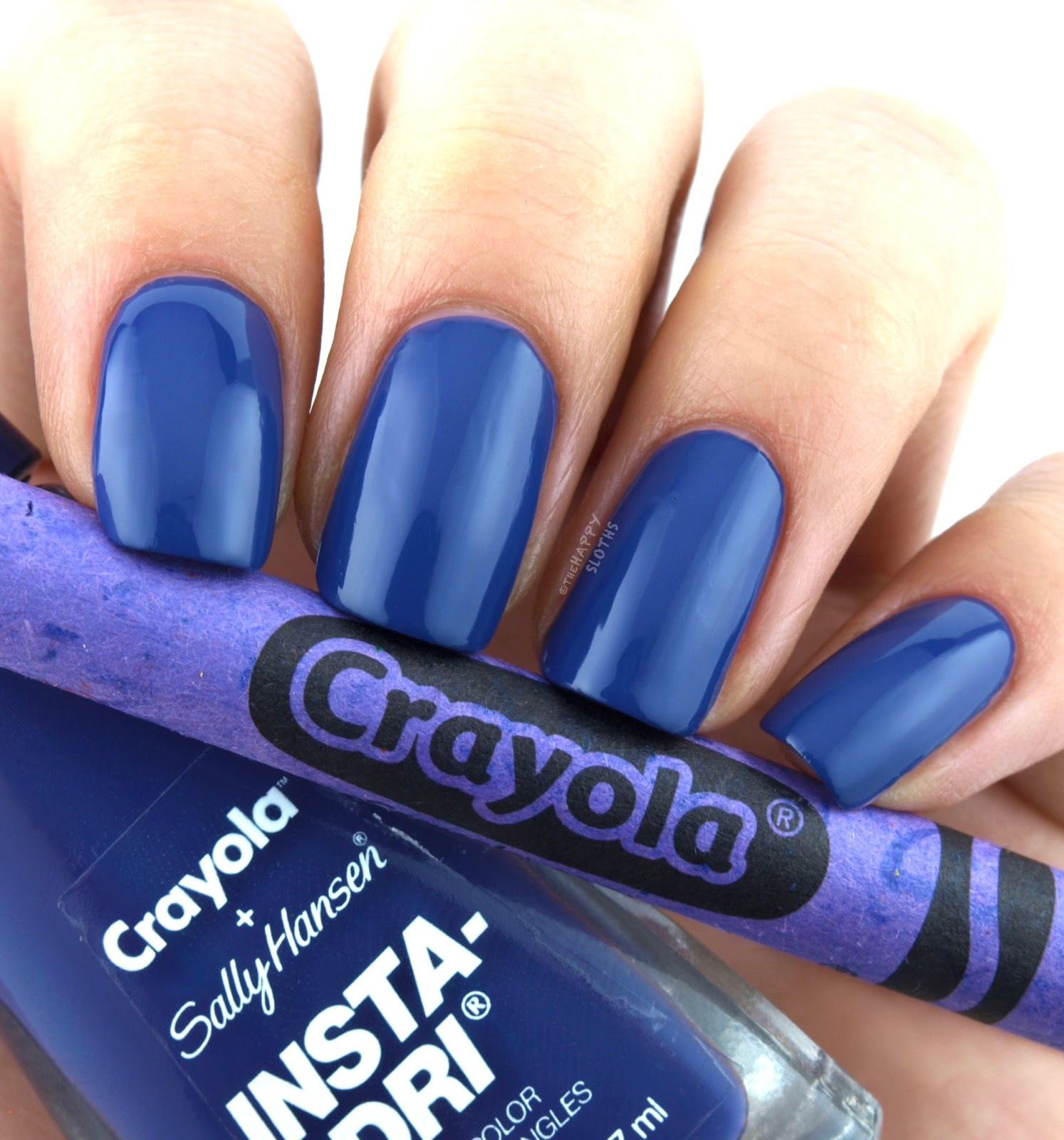 Sally Hansen + Crayola Collection | 513 Purple Heart: Review and Swatches
