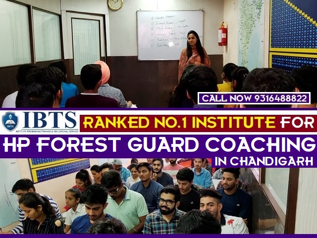 Join IBTS for HP Forest Guard Coaching in Chandigarh