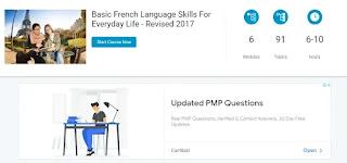 دورات تعلم اللغة الفرنسية مجانا:دورة أليسون