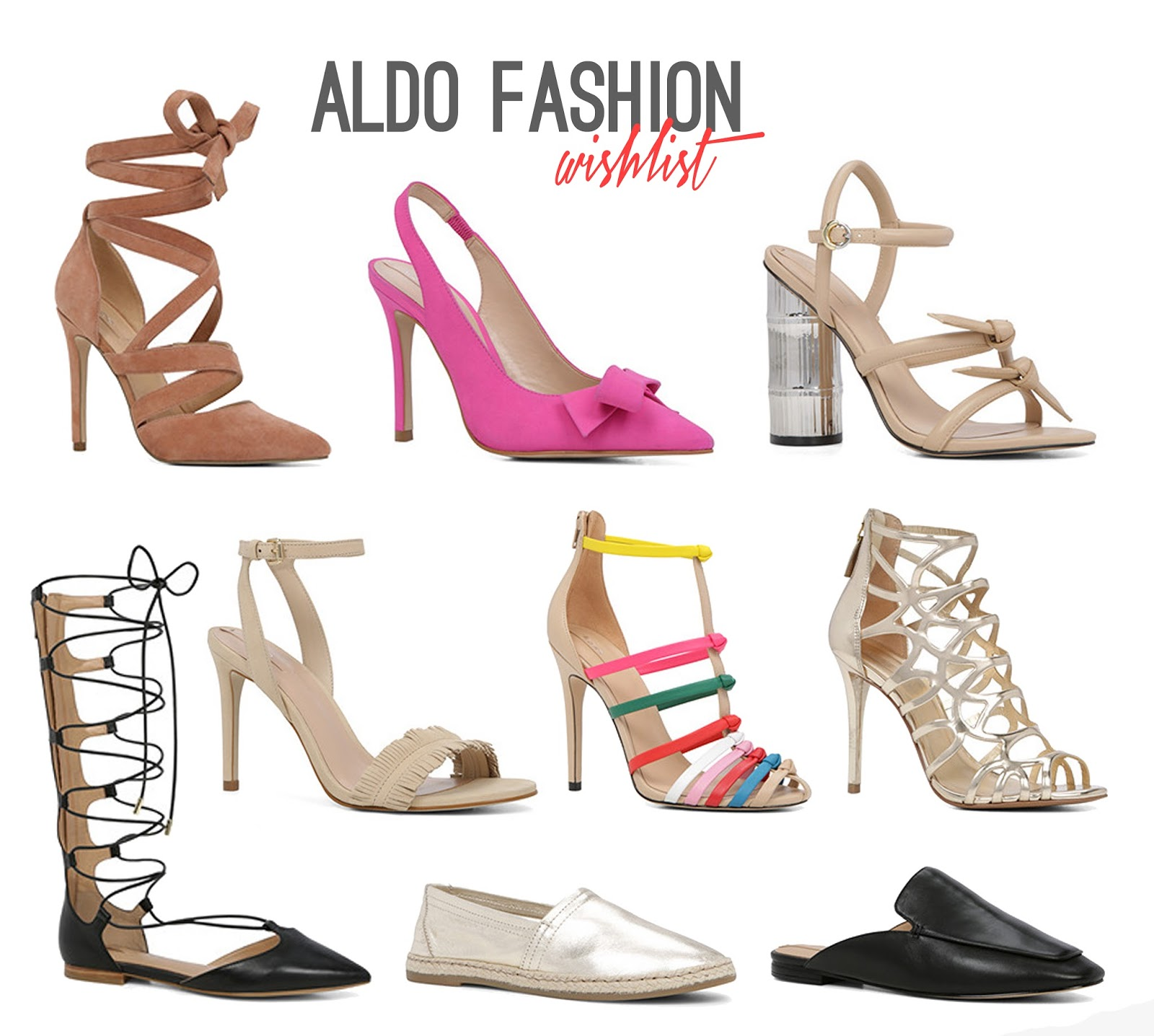 Win ALDO Shoes - Rachel Nicole UK Blogger