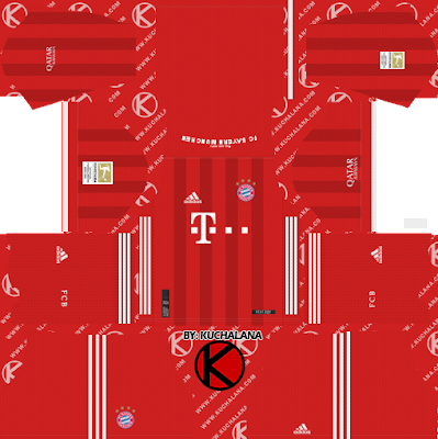 Bayern Munich 2020-21 Kit - DLS2019 Kits