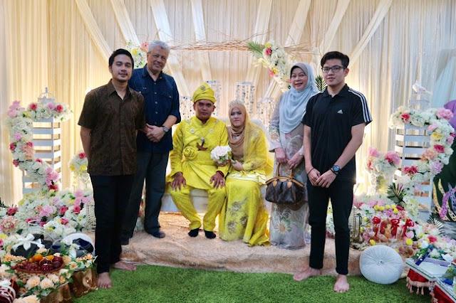 Majlis Perkahwinan Anak Buah Di Kampung