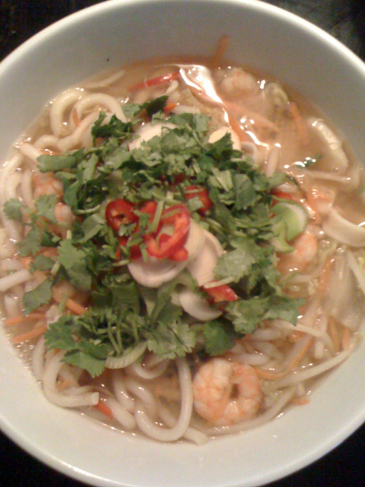 Seafood Udon Miso | thecookingpedia