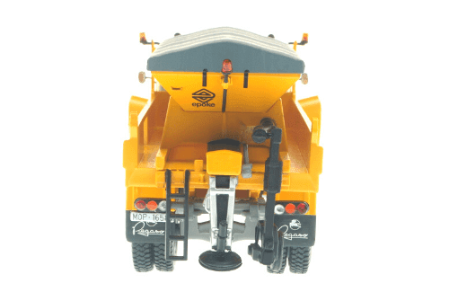 coleccion camiones y autobuses españoles, pegaso 3040 quitanieves mop 1:43