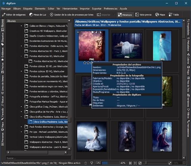 digiKam 7.0.0 - Administrador de fotos profesional