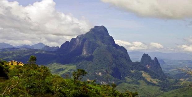 Ketampakan Alam Laos, Keadaan Alam Negara Laos