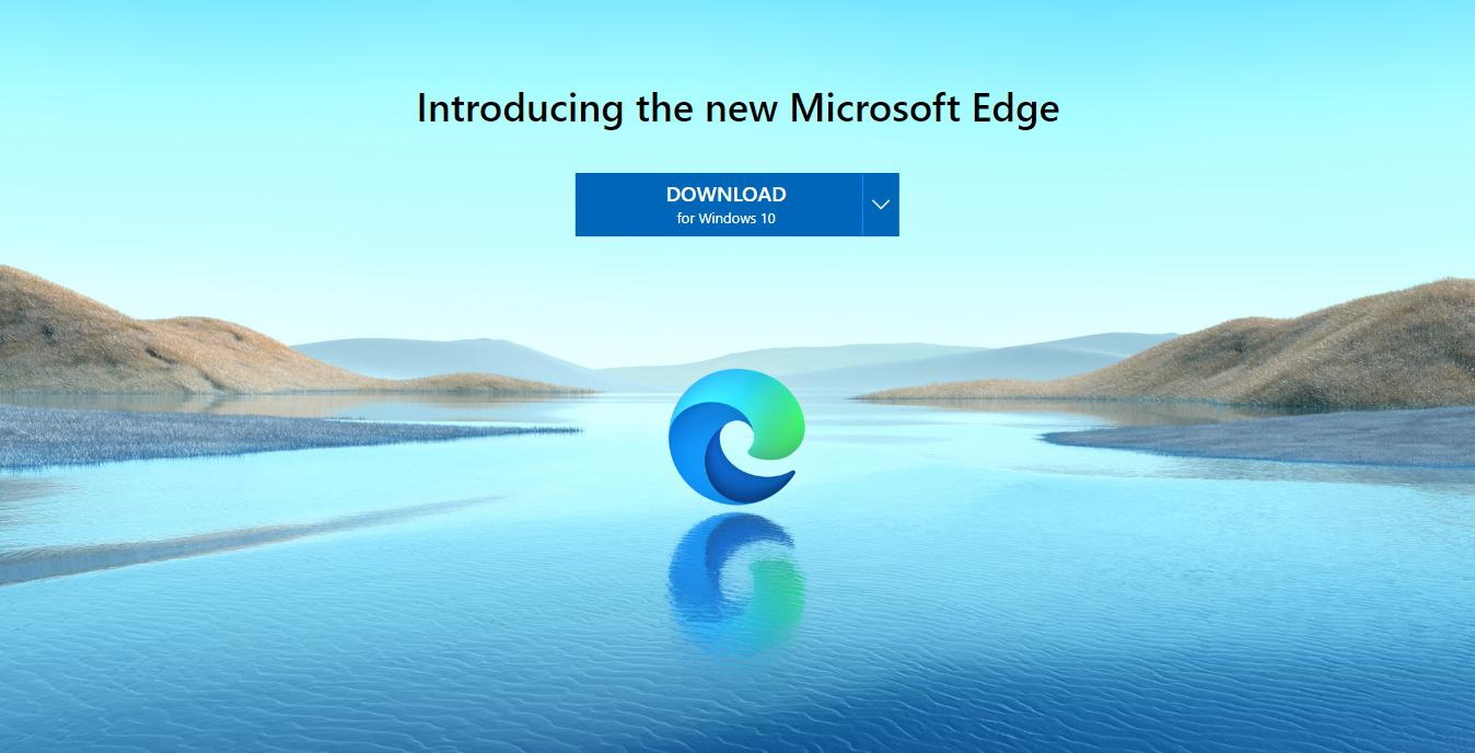 Download sfondo nuovo Microsoft Edge