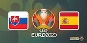 مشاهدة مباراة سلوفاكيا واسبانيا بث مباشر اليوم 23 يونيو 2021 في يورو 2020