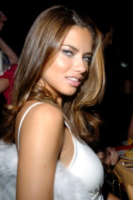 photographies 8 adriana lima straight hairstyles