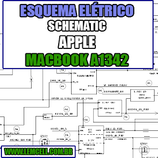 Esquema Elétrico Notebook Apple MacBook Unibody A1342 A520f  Laptop Manual de Serviço  Service Manual schematic Diagram Notebook Apple MacBook Unibody A1342 A520f  Laptop   Esquematico Notebook Placa Mãe Apple MacBook Unibody A1342 A520f  Laptop
