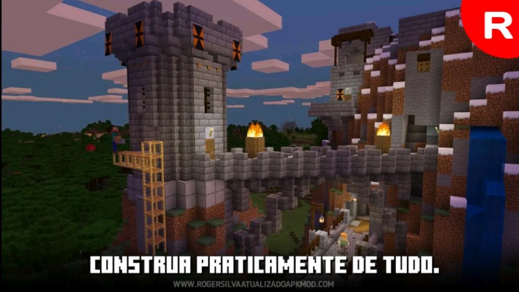 Libere sua criatividade personalizando Download Minecraft PE V1.17.0.58