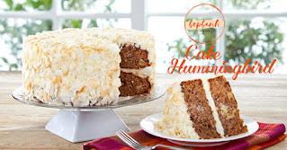 Công thức làm bánh Hummingbird Châu Âu