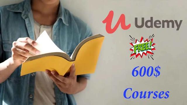 8 دورات على موقع يوديمي Udemy اصبحت مجانية لوقت محدود