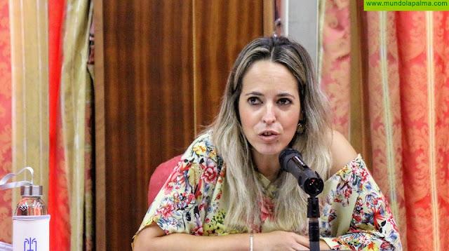 """Susana Machín: """"La educación pública en La Palma siempre ha tenido en el Cabildo a un gran aliado y en esta crisis lo seremos más que nunca"""""""