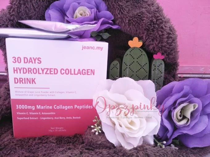 Kekal Cantik Dan sihat Dengan 30 days Hydrolyzed Collagen Drink Malaysian