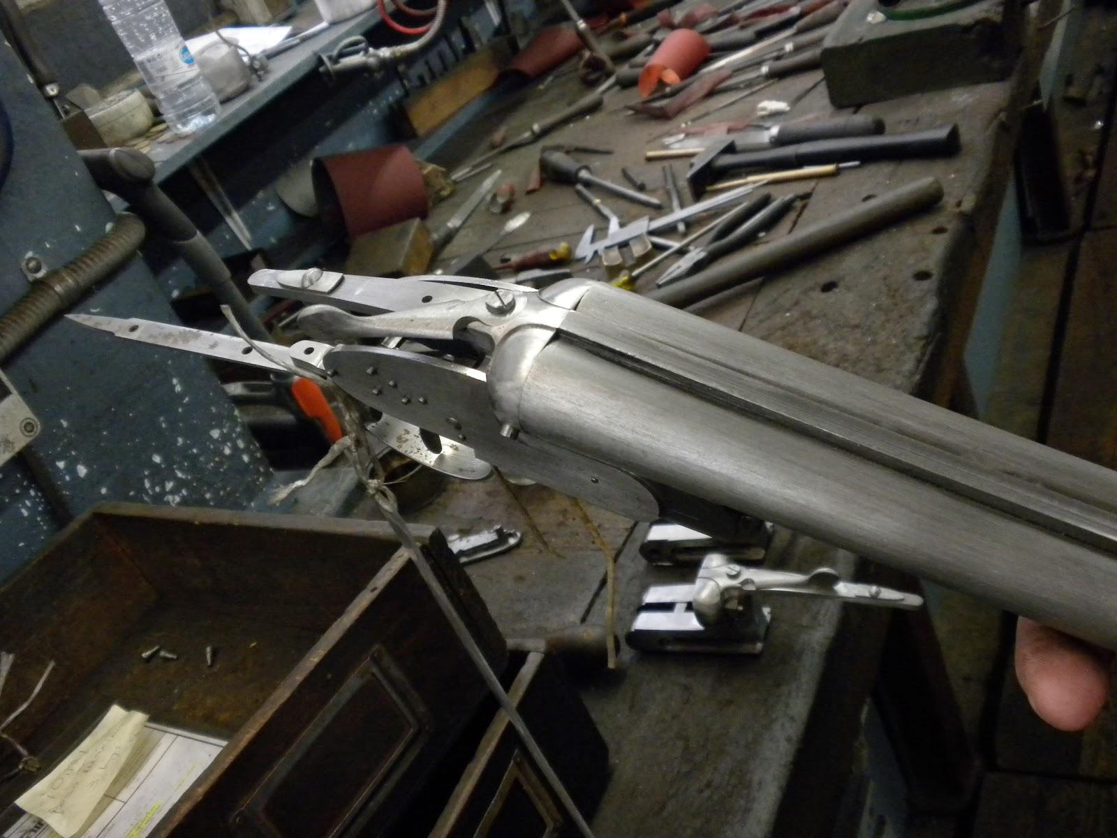 No Más Páginas En Blanco: Fabricando Un Arma A La Eibarresa