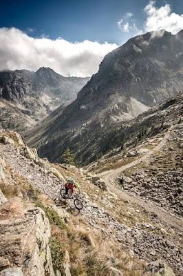 mountainbike trail sant anna die valdieri