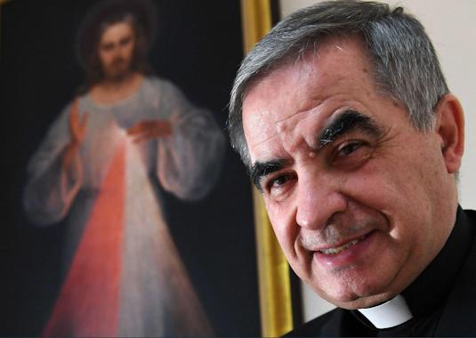 Becciu Catholic Cardinal crime finance fraud extortion corruption money laundering Vatican