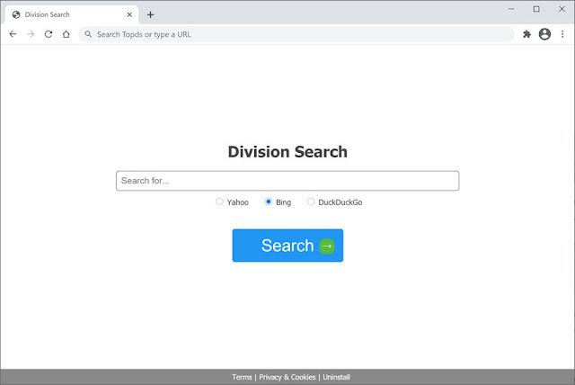 Division Search (Hijacker)