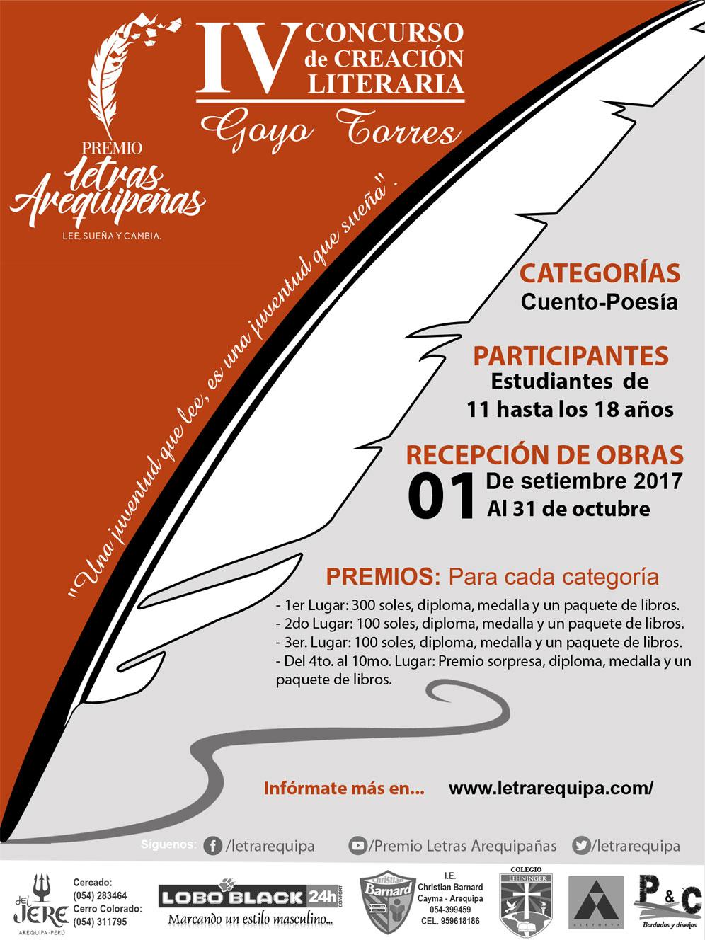Premio Letras Arequipenas