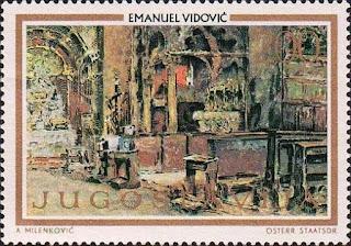 Emanuel_Vidović_1973_Yugoslavia_stamp