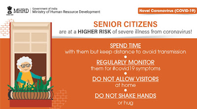 Indian advice older people WHO COVID