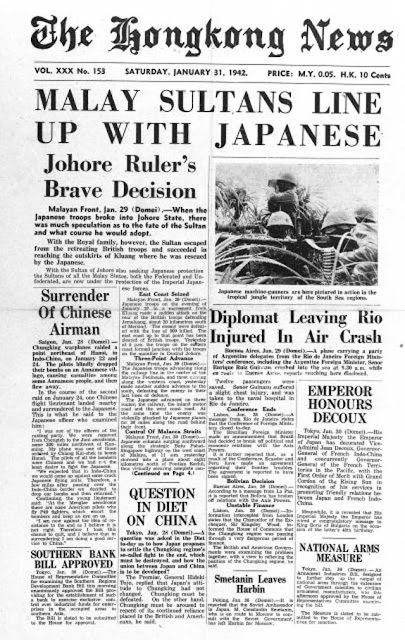 Hong Kong News, January 1942 worldwartwo.filminspector.com