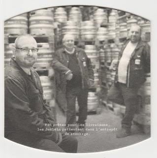 Sous-bock de la bière Jenlain