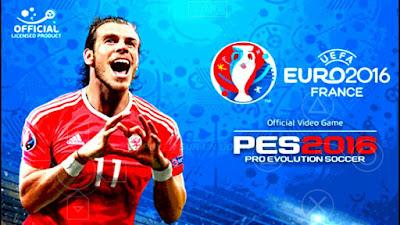 Euro 2016 PSP ေဘာလုံးဂိမ္ းအသစ္ေလးပါ Pes 2016 Psp emulator Apk +Data (Andriod Game)