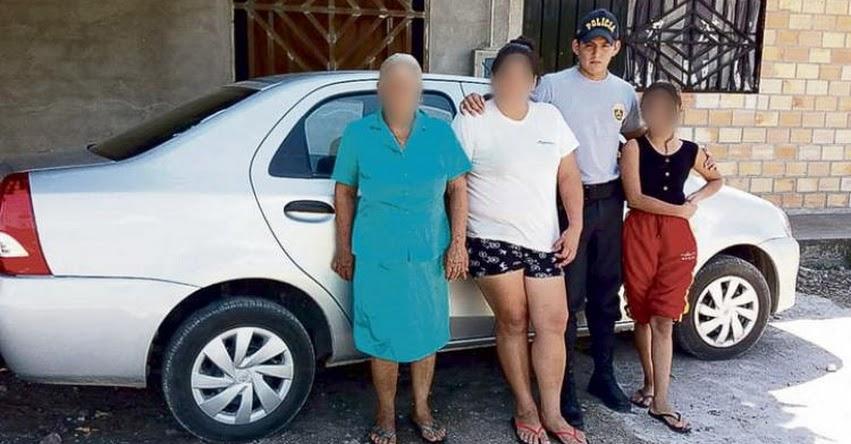 Denuncian que policía uniformado se graba teniendo relaciones con escolar en la región San Martín
