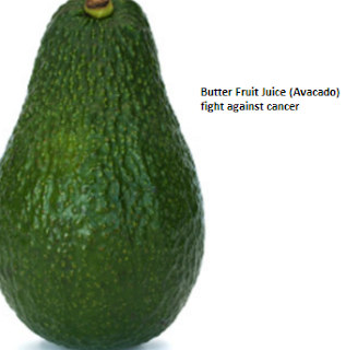 Butter Fruit Juice (Avocado) fight against cancer: