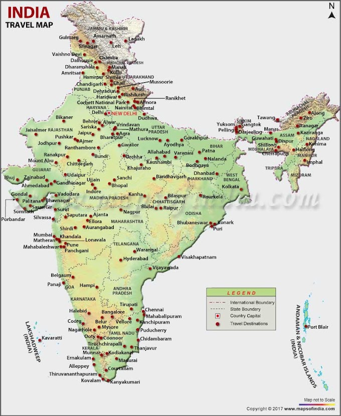 1000 Best Tourist Places to Visit in India