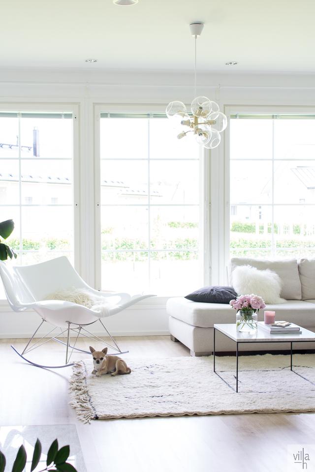interior, olohuone, sisustus