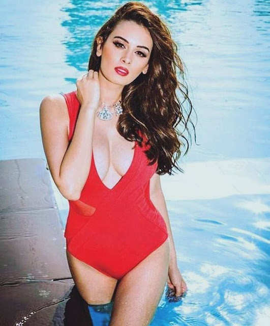 Beach Beauty Evelyn Sharma Holiday Pictures