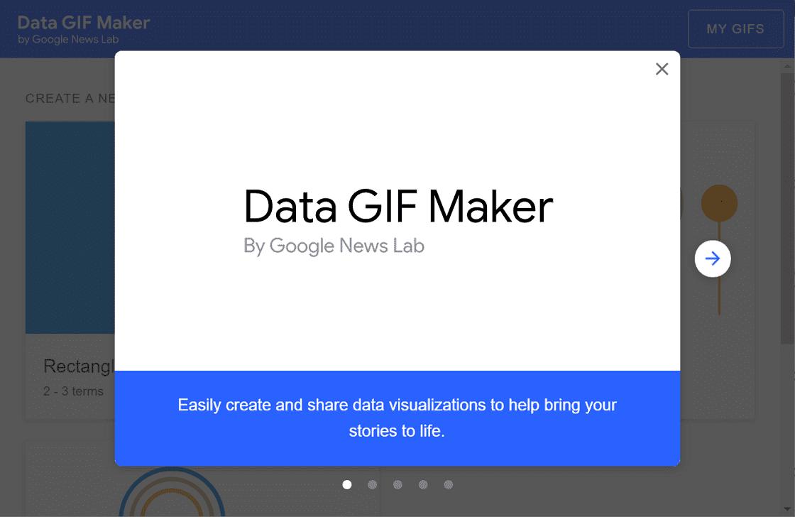 Data GIF Maker 製作 GIF 動圖來呈現數據差異