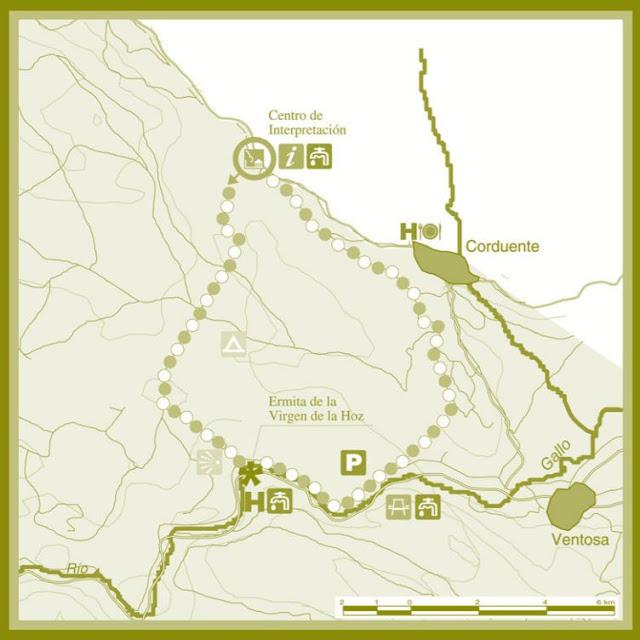 Mapa de Ruta El Rodenal