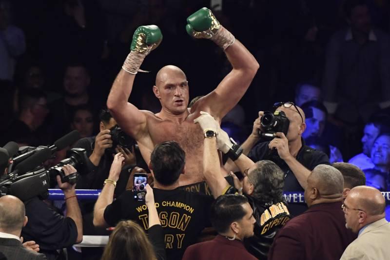 Tyson Fury Destroys Deontay Wilder In Heavyweight Title Rematch!