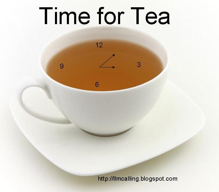 Llm Calling Time For Tea #100wcgu