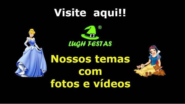 Lugh Festas - Decoração para festa de aniversário infantil em mesas tradicionais e provençais para o Rio de Janeiro - RJ