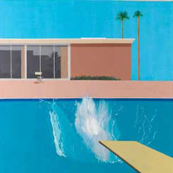 "David Hockney: ""A bigger splash"", 1967"