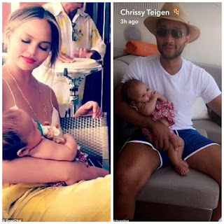 , Stunning Moment: John Legend and family on a yacht off St. Tropez, Latest Nigeria News, Daily Devotionals & Celebrity Gossips - Chidispalace