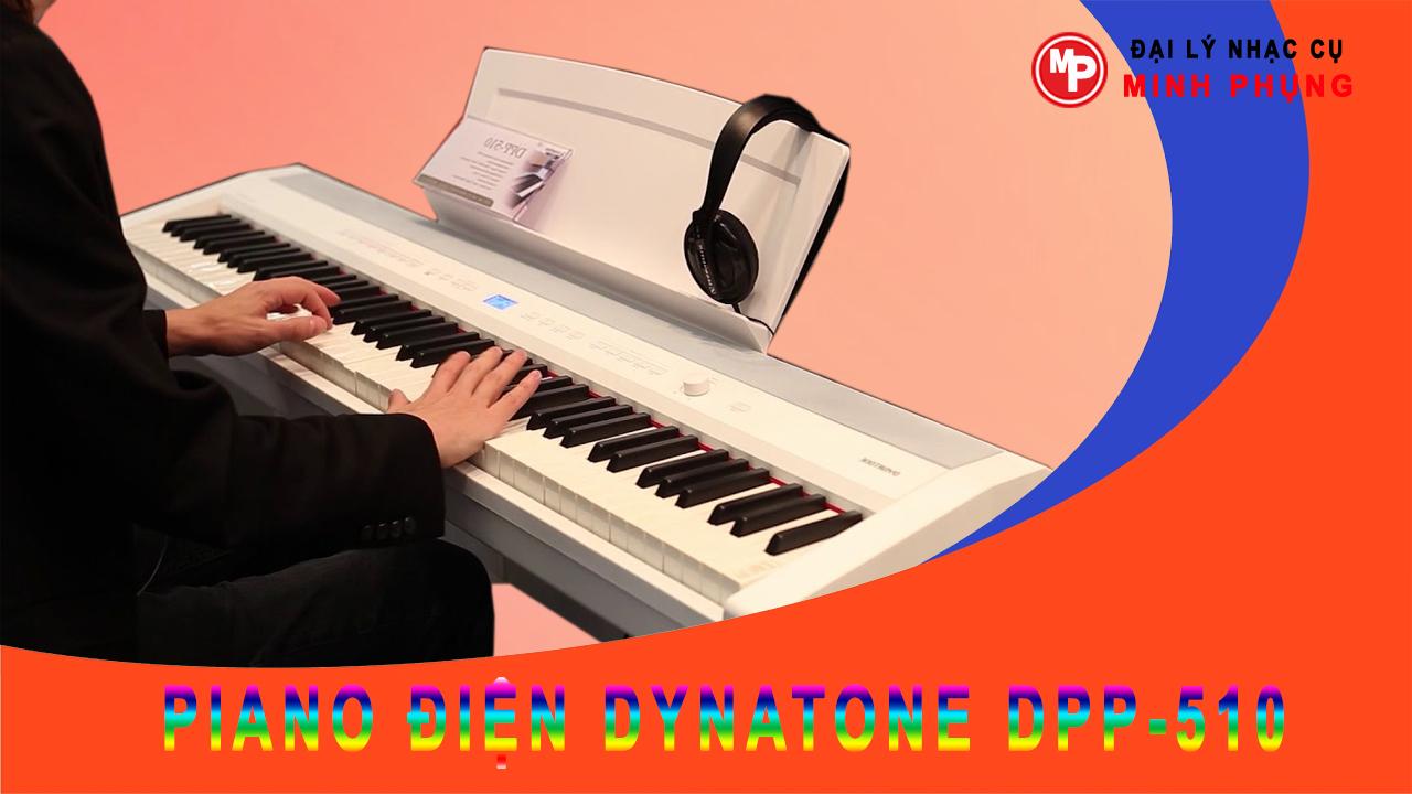 Đàn piano điện dynatone DPP-510 chính hãng, giá tốt