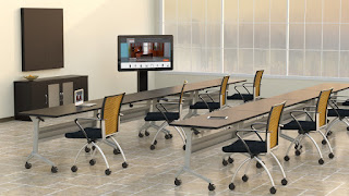 Flip Top Training Tables