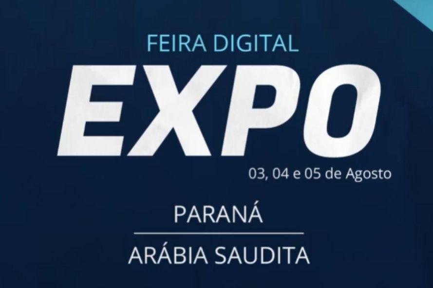 Invest Paraná lança Feira Digital Expo Paraná-Arábia Saudita
